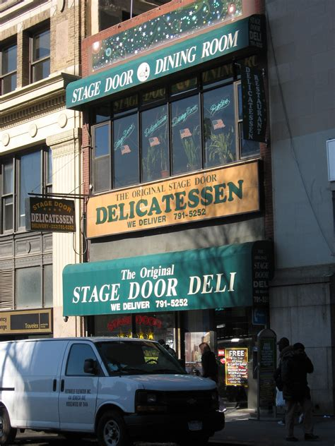 Stage Door Diner by New York City Gregg Morris