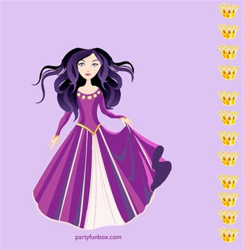 printable pin the crown on the princess 12 best printable birthday games images on pinterest