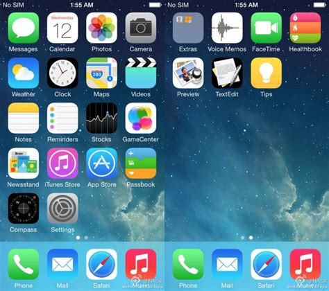 imagenes dinamicas iphone ios 8 screenshots of ios 8 healthbook preview textedit icons