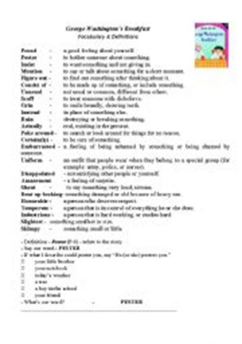george washington biography esl english teaching worksheets george washington
