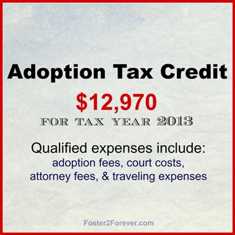 section 25d tax credit adoption tax credit what you should know foster2forever