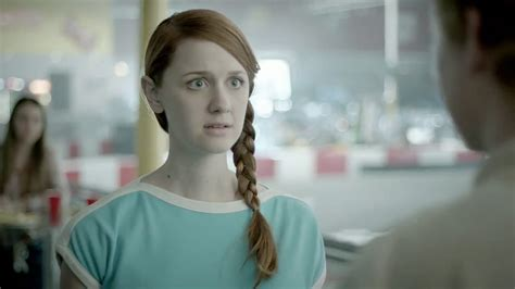 who is actress in the latest commercial for loreal ultimate straight shoo up and coming actress frenches the rainbow in latest weird