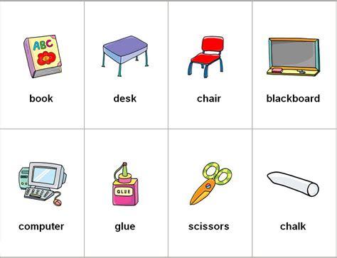 imagenes de utiles escolares con su nombre angles 365 recursos