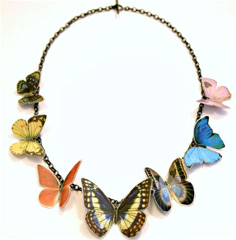 Necklace By 7 x butterfly necklace contemporary necklaces pendants by contemporary jewellery designer