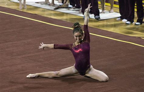 Northern Lights Gymnastics Meet by Photo Story Chippewa Gymnastics Vs Niu Grand Central