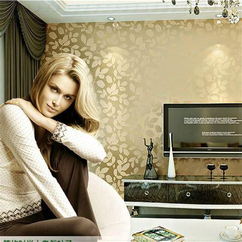 bedroom wallpaper designs 6 pk vogue warm leaves 3d wallpaper design living room bedroom wood