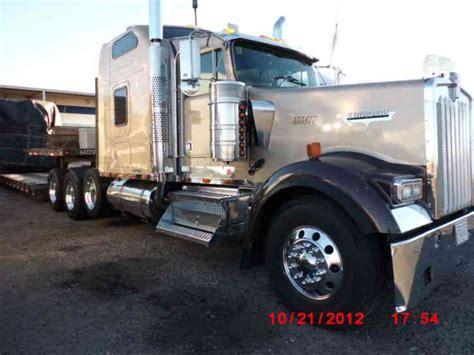 heavy haul kenworth trucks kenworth w900l 2000 heavy duty trucks