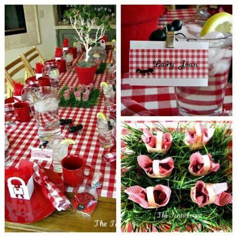 ant picnic birthday decor baby shower ideas