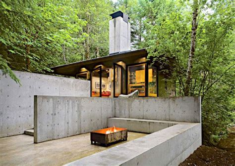 compact cottages compact river cabin design in washington modern house