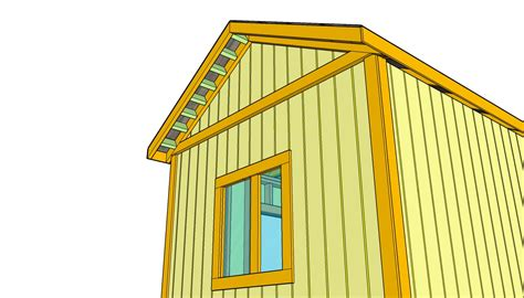 How To Build A Shed Roof Overhang by Outdoor Shed Plans Free Free Outdoor Plans Diy Shed