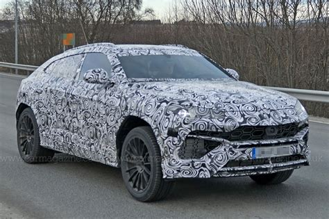 lambo jeep new lamborghini urus suv spotted being thrashed around the