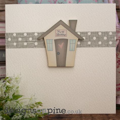 Handmade New Home Card Ideas - made new home card designs on pine