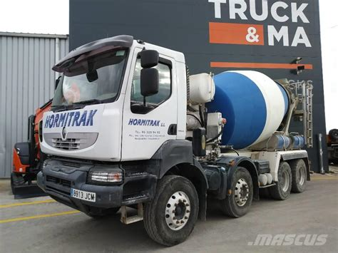 renault kerax used renault kerax concrete trucks year 2007 for sale
