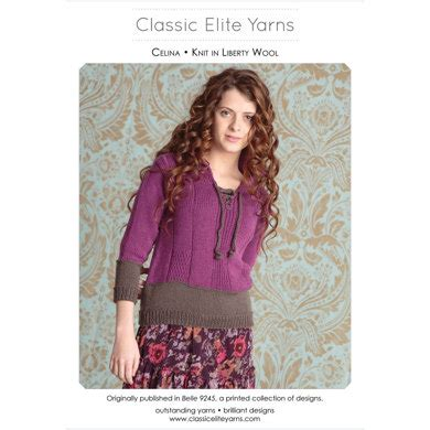 celina pullover in classic elite yarns liberty wool solids