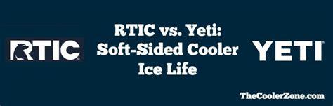 polar bear soft cooler vs yeti rtic vs yeti soft sided cooler ice life the cooler zone