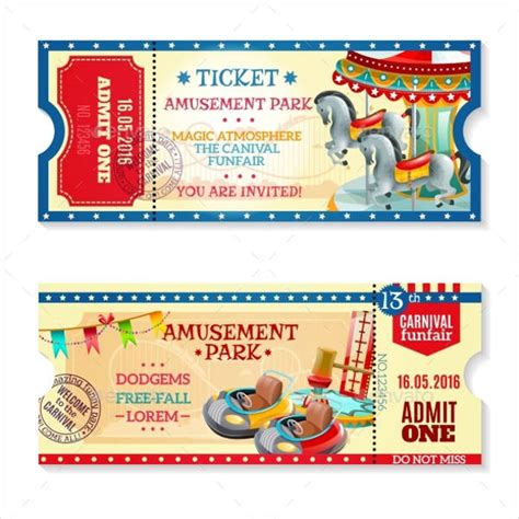 carnival event invitation ticket template 8 carnival ticket templates free psd ai vector eps format free premium templates