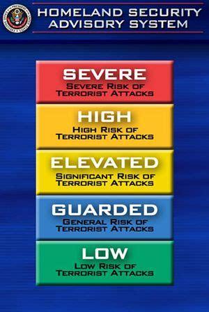 terror alert colors terror alert color codes