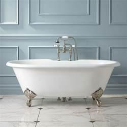 Sanford cast iron clawfoot tub imperial feet cast iron tubs bathtubs bathroom