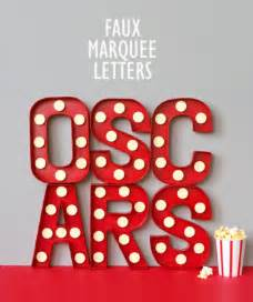 printable marquee letters 20 oscar viewing party ideas tip junkie