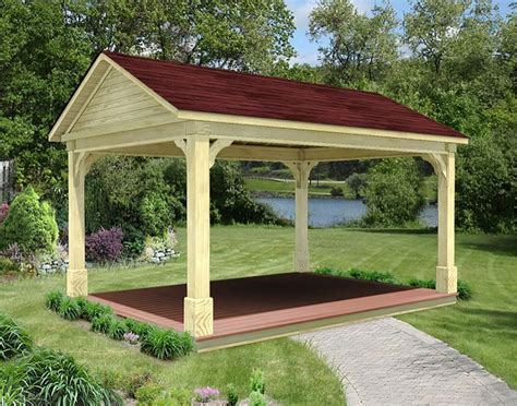 Gable Roof Gazebo Treated Pine Gable Roof Ramadas Ramadas By Material