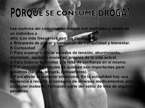 imagenes para reflexionar sobre las drogas las drogas diapositivas