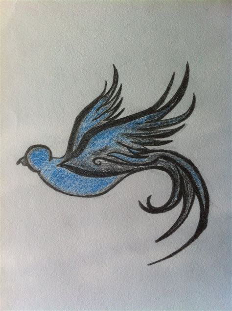 bird drawing by rodjij on