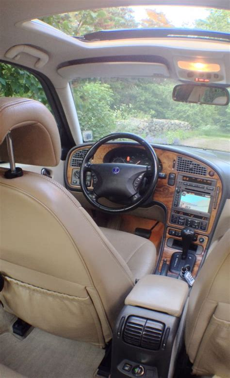 how make cars 2002 saab 42133 interior lighting saab 9 5 aero 00 interior sunroof heated seats front and back ventilated front seats