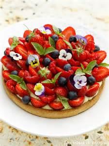 de vous 224 moi tarte aux fraises et petits fruits