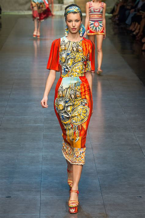 dolce and gabbano runway to style freaks fashion dolce and gabbana s