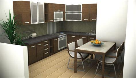 desain interior rumah minimalis ukuran kecil koleksi contoh gambar desain interior dapur dari yang