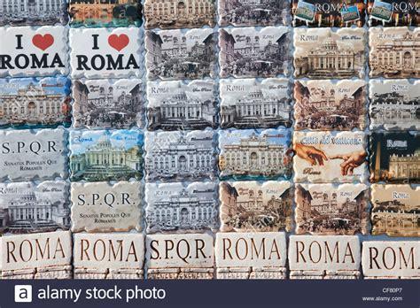 Souvenir Italia Tempelan Magnet Hiasan Rome europe italy rome fridge magnets souvenirs tourism stock photo royalty free image