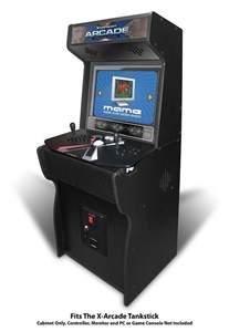 Sit Down Arcade Cabinet 27 Quot Xtension Arcade Cabinet Fits X Arcade Tankstick With