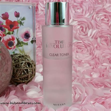 Missha Time Revolution Clear Toner missha time revolution clear toner review bits and boxes