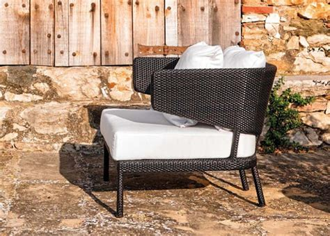 garden armchair fennec large garden armchair modern garden furniture by
