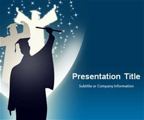 free graduation powerpoint templates free ppt