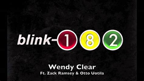 blink182 wendy clear quot wendy clear quot blink 182