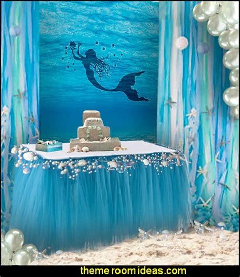 mermaid centerpiece decorations decorating theme bedrooms maries manor mermaid