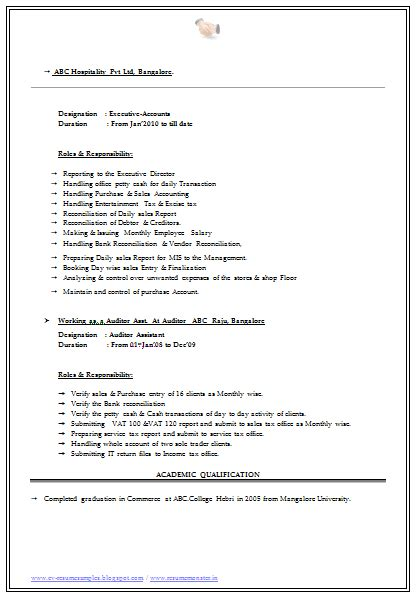 Sle Resume For Freshers Bcom Graduate Doc Personal Interests On Resume Resume Badak