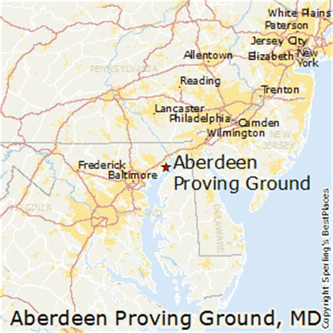 maryland map aberdeen best places to live in aberdeen proving ground maryland