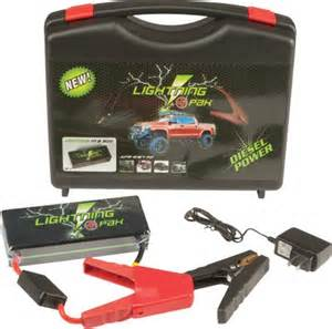 Lightning Car Jump Starter Lil Lightning Rescue Pak Rp 3 Lithium Jump Start Pack Car