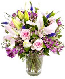 Lily Vases Weekly Flower Delivery Pinks