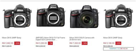 kedai kamera menjual kamera terpakai dari pelbagai jenama terkenal sabree hussin