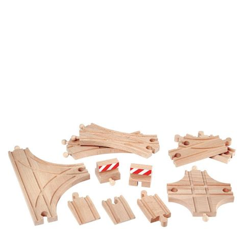 brio train track set brio advanced expansion train track set toys zavvi com