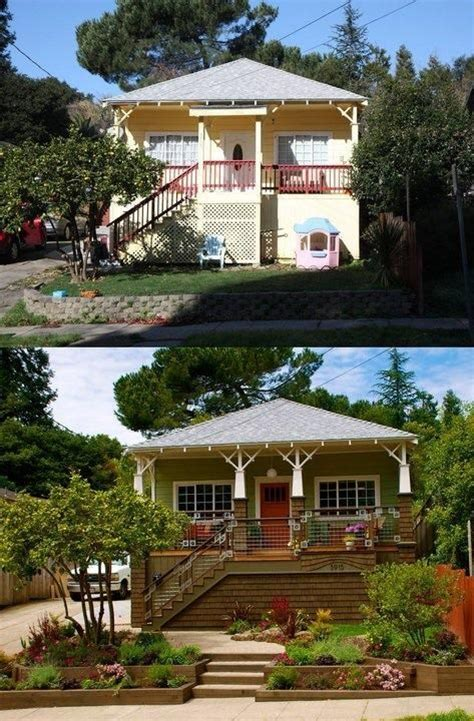 home curb appeal before and after curb appeal before after and the doors on