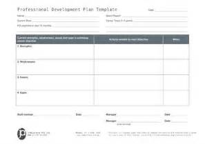 Staff Professional Development Plan Template by How To Create Staff And Professional Development