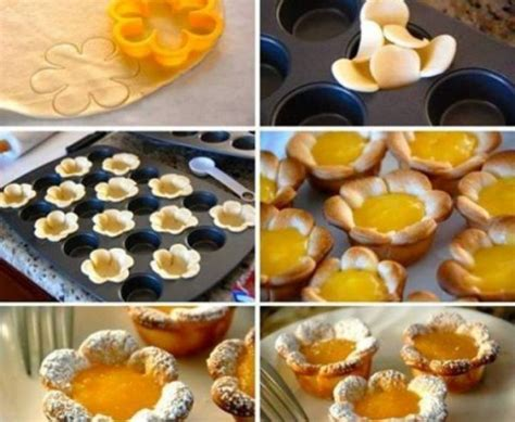 flower food diy cooking class lemon flower dessert how to instructions