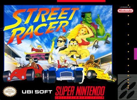 street racer snes super nintendo