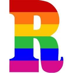 Rainbow Letter R Photo Sculptures | Zazzle R