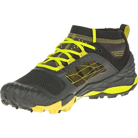 merrell running shoes merrell all out terra trail mens running shoes ss16