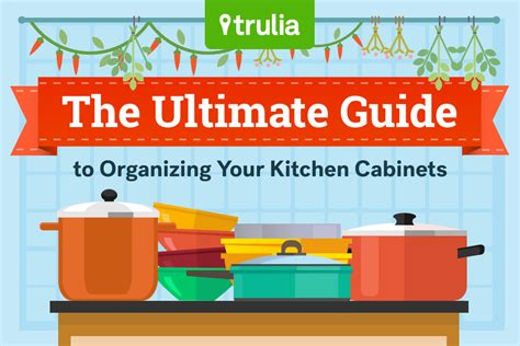 organizing cabinets in kitchen the ultimate guide to kitchen organization trulia s